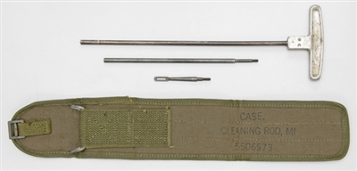 M1 CARBINE GI M8 CLEANING ROD WITH NATO CANVAS CASE