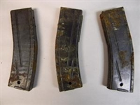 ON SALE ! 3 SLIGHTLY RUSTY US G1 M1 CARBINE 30 ROUND MAGAZINES