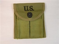 M1 CARBINE ORIGINAL US GI MAGAZINE STOCK POUCH WWII DATED. NEW