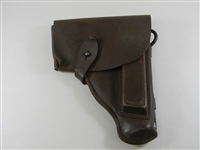 EAST GERMAN MAKAROV PISTOL BROWN LEATHER HOLSTER