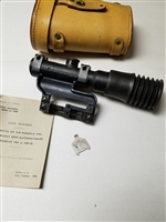 MAS 49/56 RIFLE APX SNIPER SCOPE WITH CASE.