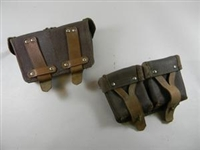 SUPER DEAL! SET OF 2 MOISIN NAGANT RIFLE AMMO POUCHES