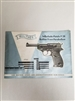 WALTHER P38 TECHNICAL MANUAL.