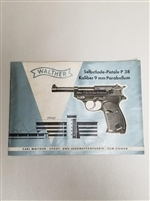 WALTHER P38/P1 TECHNICAL MANUAL.