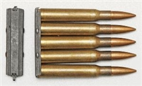 SPRINGFIELD 1903-A3 STRIPPER CLIPS 5 ROUND STEEL. SET OF 5