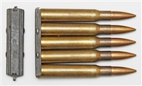 SPRINGFIELD 1903-A3 STRIPPER CLIPS 5 ROUND STEEL. SET OF 10