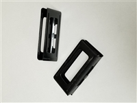 CARCANO RIFLE STEEL STRIPPER CLIPS. SET OF 2 PIECES.