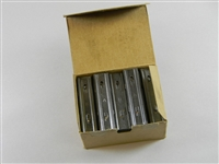 SWEDISH 6.5 m/m 5 ROUND STRIPPER CLIPS. BOX OF 40 PIECES.