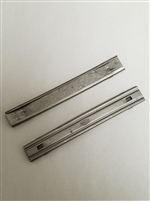 "MAUSER C96 10 ROUND STEEL STRIPPER CLIPS MARKED ""MAUSER"" SET OF 2 PIECES."