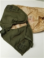 US GI PAIRS OF O.D. GREEN SHOULDER PADS PROTECTORS.