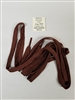 "US GI WWII BOOTS LACES 40"" BROWN SET OF 3 PAIRS."