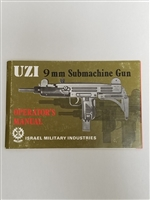 "UZI 9 m/m OPERATOR'S MANUAL FROM ""IMI""."