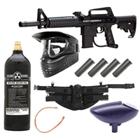 BT Omega 2012 Paintball Gun Package - Intermediate