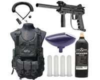 Empire Battle Tested Slice Woodsball Paintball Starter Kit