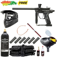 Kingman 2012 Spyder Fenix Paintball Gun Mega Set - Black