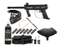98 Custom ACT Platinum Semiauto Paintball Gun MEGA Set