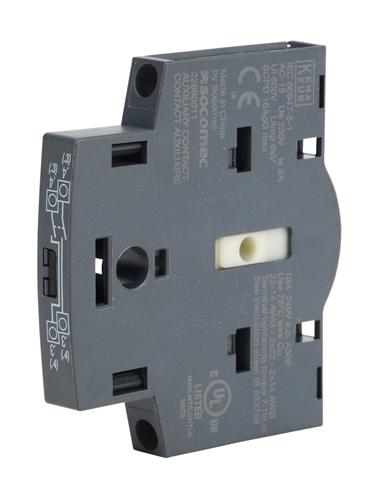 22990011 socomec auxiliary contact block. Black Bedroom Furniture Sets. Home Design Ideas