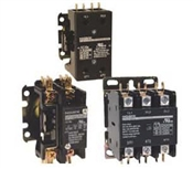 EX9CK20B10B7 (24/50-60VAC)...DEFINITE PURPOSE CONTACTOR, 1-POLE WITH SHUNT, 24/50-60VAC, 20AMPS