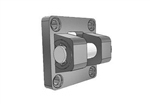 AIRTAC Mounting bracket for NSU series, MP2 type double clevis for 2-1/2 inch bore cylinders