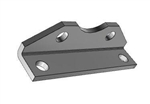 AIRTAC Mounting bracket for NSU series, MS1 type foot mounting for 2 inch bore cylinders