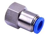 NPCF1/4-3/8 AIRTAC NPYB PUSH TO CONNECT PNEUMATIC FITTING  FEMALE CONNECTOR