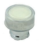 RB2-BA18...FLUSH PUSH BUTTON, SPRING RETURN, WITH TRANSPARENT BOOT, IP66, NON-ILLUMINATED, WHITE COLOR