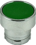 RB2-BA3...FLUSH PUSH BUTTON, SPRING RETURN, NON-ILLUMINATED, GREEN COLOR