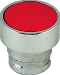 RB2-BA4...FLUSH PUSH BUTTON, SPRING RETURN, NON-ILLUMINATED, RED COLOR
