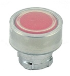RB2-BA48...FLUSH PUSH BUTTON, SPRING RETURN, WITH TRANSPARENT BOOT, IP66, NON-ILLUMINATED, RED COLOR