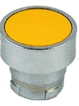 RB2-BA5...FLUSH PUSH BUTTON, SPRING RETURN, NON-ILLUMINATED, YELLOW COLOR
