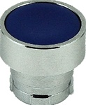RB2-BA6...FLUSH PUSH BUTTON, SPRING RETURN, NON-ILLUMINATED, BLUE COLOR