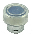 RB2-BA68...FLUSH PUSH BUTTON, SPRING RETURN, WITH TRANSPARENT BOOT, IP66, NON-ILLUMINATED, BLUE COLOR