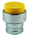 RB2-BL5...PROJECTING PUSH BUTTON, SPRING RETURN, NON-ILLUMINATED, YELLOW COLOR