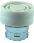 RB2-BP1...BOOTED PUSH BUTTON, SPRING RETURN, IP66, NON-ILLUMINATED, WHITE COLOR
