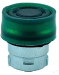 RB2-BP3...BOOTED PUSH BUTTON, SPRING RETURN, IP66, NON-ILLUMINATED, GREEN COLOR