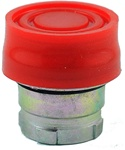 RB2-BP4...BOOTED PUSH BUTTON, SPRING RETURN, IP66, NON-ILLUMINATED, RED COLOR