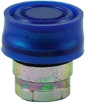 RB2-BP6...BOOTED PUSH BUTTON, SPRING RETURN, IP66, NON-ILLUMINATED, BLUE COLOR