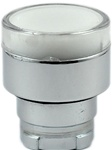 RB2-BW31...FLUSH PUSH BUTTON, SPRING RETURN, FOR INCANDESCENT & LED BULBS, WHITE COLOR