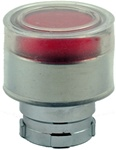 RB2-BW54...BOOTED TYPE FLUSH PUSH BUTTON, FOR INCANDESCENT & LED BULBS, RED COLOR