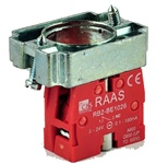 RB2-BZ1026...CONTACT BLOCK SWITCH,NORMALLY CLOSED,GOLD FLASH TYPE WITH COLLAR