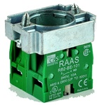 RB2-BZ103...CONTACT BLOCK SWITCHES,NORMALLY OPEN+NORMALLY OPEN,STANDARD TYPE WITH COLLAR