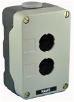 RC-2M...2 STATION METAL CONTROL  ENCLOSURE