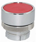 RM2-BA4...FLUSH METAL PUSH BUTTON, SPRING RETURN, RED COLOR