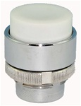 RM2-BL1...PROJECTING PUSH BUTTON, SPRING RETURN, WHITE COLOR