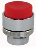 RM2-BL4...PROJECTING PUSH BUTTON, SPRING RETURN, RED COLOR