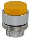 RM2-BL5...PROJECTING PUSH BUTTON, SPRING RETURN, YELLOW COLOR