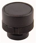 RP2-BA2...FLUSH PLASTIC PUSH BUTTON, SPRING RETURN, BLACK COLOR