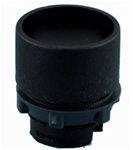 RP2-BA26...GUARDED PLASTIC PUSH BUTTON, BLACK COLOR