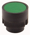 RP2-BA3...FLUSH PLASTIC PUSH BUTTON, SPRING RETURN, GREEN COLOR