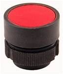 RP2-BA4...FLUSH PLASTIC PUSH BUTTON, SPRING RETURN, RED COLOR